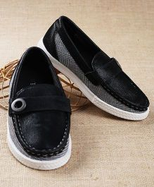Tuskey Slip On Loafer Shoes - Black