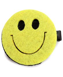 Sugarcart Cute Smile Alligator Clip - Yellow