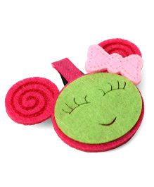 Sugarcart Cute Rabbit Face Tictak Clip - Pink