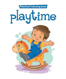 Preschool Coloring Book Playtime - English