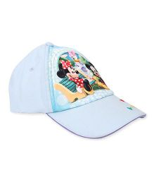 Disney Summer Cap Mickey And Friends Print - Blue