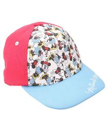 Disney Summer Cap Minnie Mouse Print - Multicolour