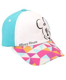 Disney Summer Cap Mickey Print - Multi Color