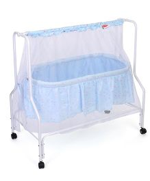 Babyhug Dream Time Cradle Printed - Blue