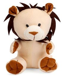 Playtoons Lion Soft Toy Cream - 20.32 cm