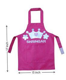 Kidzbash Apron Princess Design - Pink