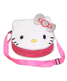 Kidzbash Hello Kitty Sling Bag - Pink White