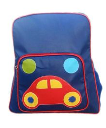 Kidzbash Backpack Car Design - Blue