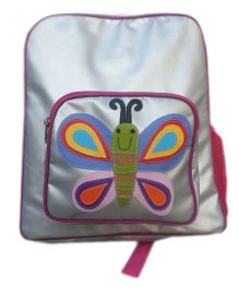 Kidzbash Backpack Butterfly Design - Silver