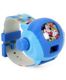 Disney Mickey Mouse Digital Projector Watch - Blue