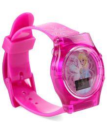 Disney Frozen Digital Watch Elsa Print - Pink