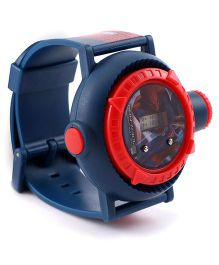 Marvel Spider Man Digital Projector Watch- Navy Red