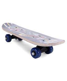 Skate Board Printed - Dark Blue