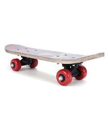 Skate Board Printed - Red