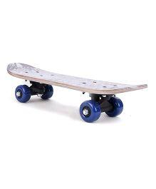 Printed Skate Board - Multicolor