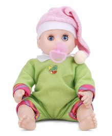Happy Baby Doll - Green Pink