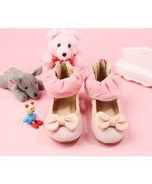 Walktrendy By Walkinlifestyle Zipper Anklet Shoe - Pink