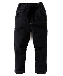 Kiddopanti Full Length Jeans - Black