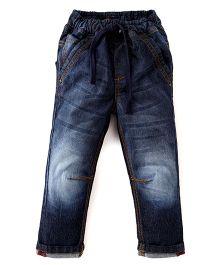 Kiddopanti Full Length Jeans - Dark Blue