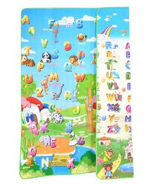 Toys4fun Alphabet And Animal Baby Play Mat - Multicolour