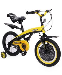 Hot Wheels Bicycle - Yellow Black
