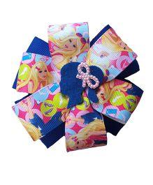 Reyas Accessories Cartoon Print Pinwheel Hair Clip - Navy Blue