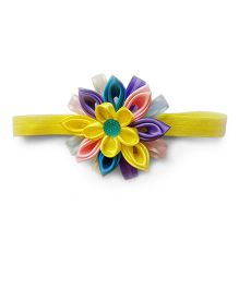Reyas Accessories Kanzashi Elastic Headband - Multicolour
