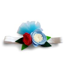 Reyas Accessories Flower Applique Headband - Multicolour
