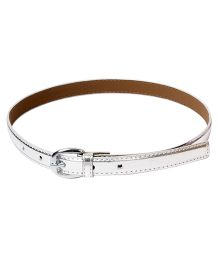 Miss Diva Girls Party Belt - Silver