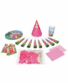 Themez Only Princess Theme Birthday Party Kit Pack Of 7 - Pink