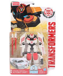 Transformers Funskool Autobot Drift - White