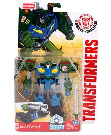 Transformer Blastwave Figurine - Blue And Green