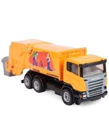 Siku Funskool Die Cast Refuse Lorry Toy - Yellow