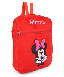 Tickles Minnie Mouse Plush Backpack Red - Height 12.7 Inches