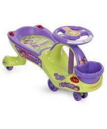 Toyzone Eco Dora Magic Twister Car 51459 - Green & Purple