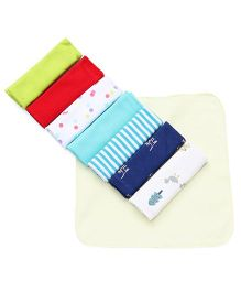 Ben Benny Wash Cloth Pack Of 8 - Multi Color