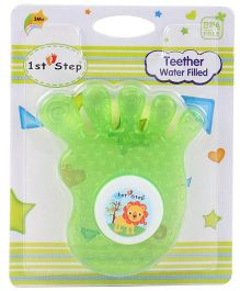 1st Step Water Filled Teether Funny Shape - Green