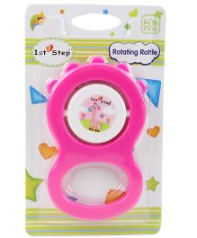 1st Step Rotating Rattle - Pink