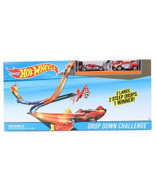 Hot Wheels Drop Down Challenge Racing Track Set - Multi Color