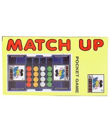 Virgo Toys Match Up Pocket Game - Multi Color