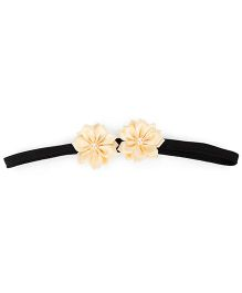 Funkrafts Daisy Flower Headband  - Cream