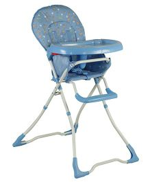 Sunbaby Tall Buddy Giraffe High Chair - Blue