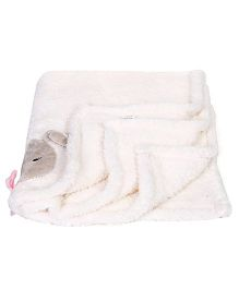 Mothers Choice Blankets Animal Print - White And Pink