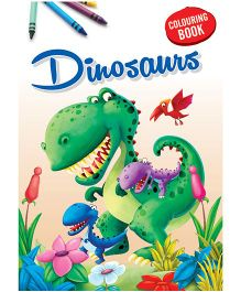 Coloring Book Dinosaurs - English