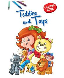 Coloring Book Toys - English