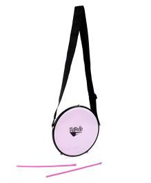 Ratnas Musical Instrument Tasha Drum - Purple And Pink