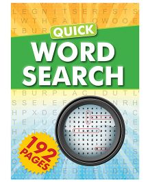 Quick Word Search Puzzle Book - English