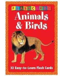 Animals & Birds Flash Cards - English