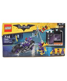 Lego Game DC Comic Batman Catwoman Catcycle Chase - Multi Color