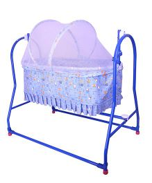 Mothertouch Italio Cradle - Blue (Print May Vary)